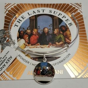 Alex and Ani The Last Supper religious bracelet